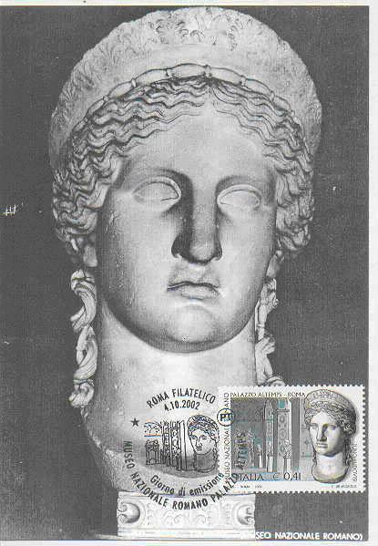 Juno on stamp