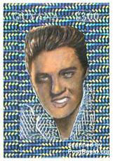Ugly Elvis Presley on stampblock