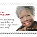 Wrong quote on Maya Angelou stamp