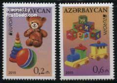 PostEurop stamp Azerbaijan