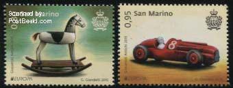 PostEurope stamps San Marino 2015