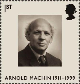Arnold Machin stamp 1999jpg
