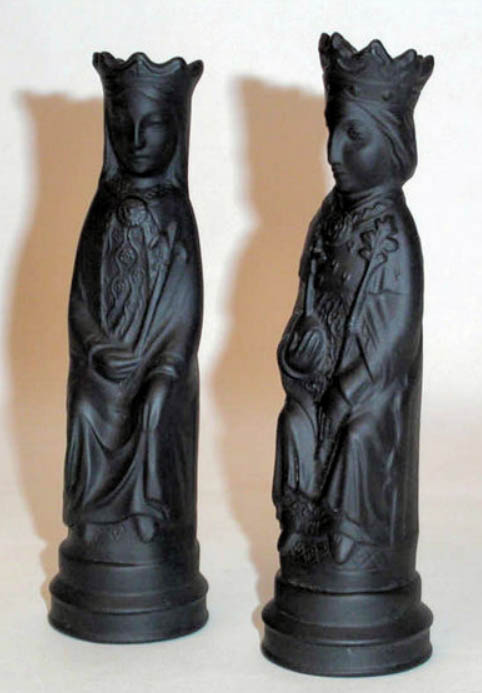 chess pieces sculpted by Arnold Machin