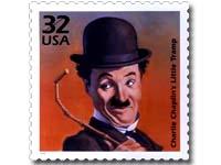 Chaplin postage stamp