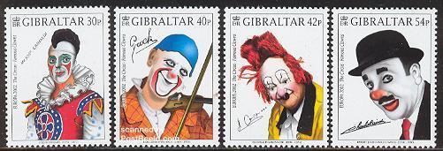 Circus, Europa theme 2002, Clowns, Gibraltar