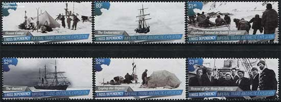 Shackleton-stamps