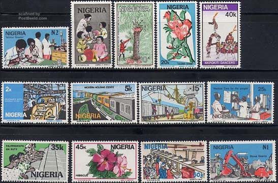 Nigeria postage stamps