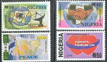 nigeria stamps 2002
