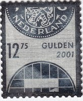 Netherland 2001 Silver stamp