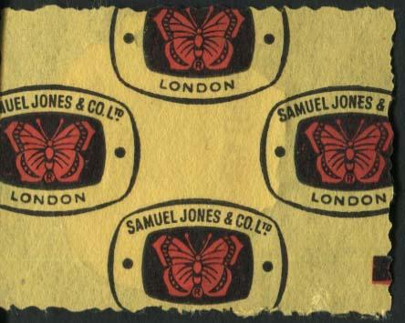 Sierra leone stamp BACK