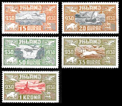 Stamps Iceland