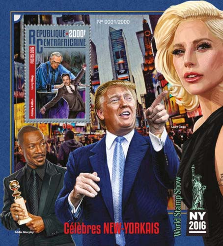 Trump-postzegel