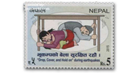 earthquake stamps