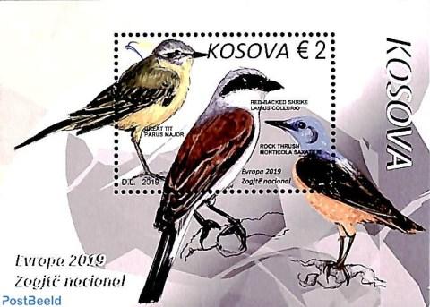 Europa National Birds Stamps 2019 - Freestampmagazine - Stamp