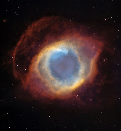 NGC 7293 The Helix Nebula (NASA, ESA, and The Hubble Heritage Team (STScI/AURA))