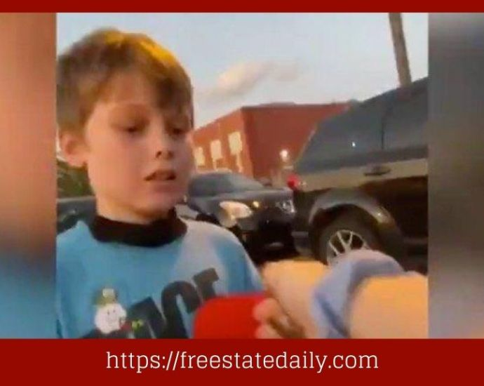 WATCH 7-Year-Old Kid Assaulted