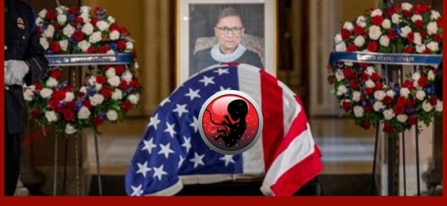 Justice Ruth Bader-Ginsburg's