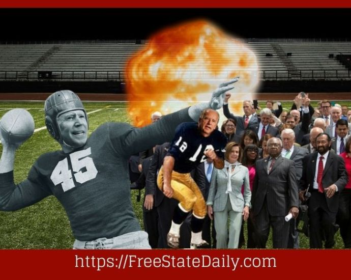 Democrats Rush To Sack The Nuclear Football