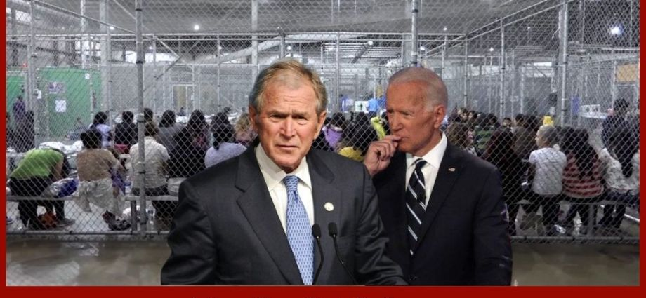 President George W Bush Offers Solution For Illegal Aliens