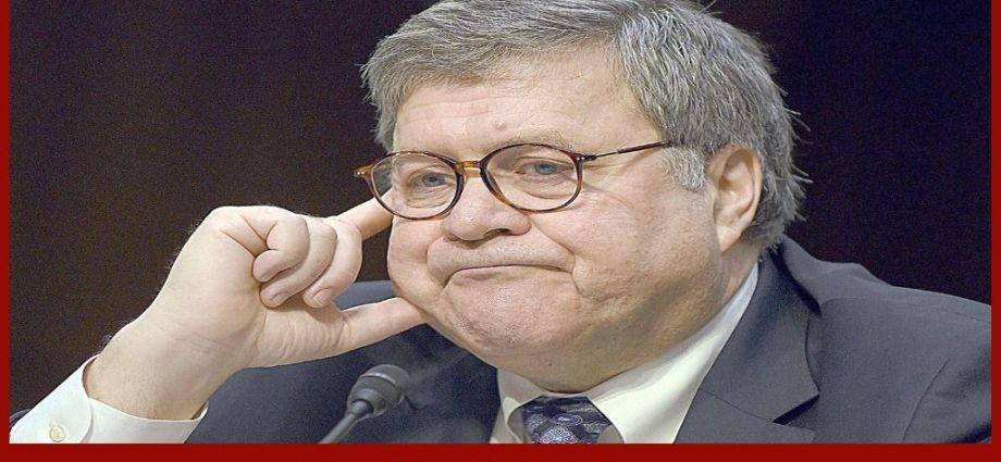 Serious Allegations Levied Against Former AG Barr By Both Sides