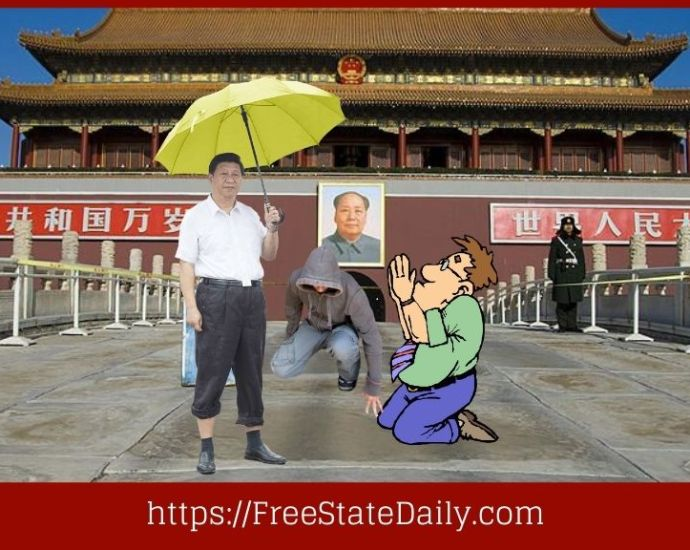 Pathetic Actor Grovels Before The Chinese