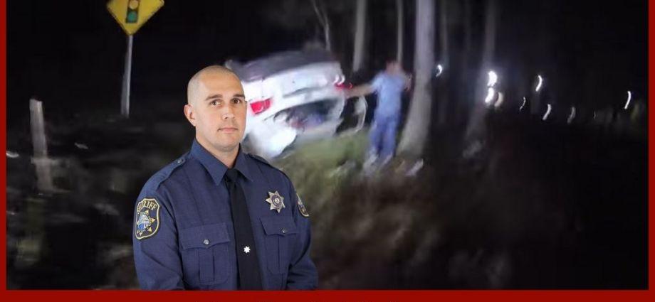 Cop Displays Superhuman Strength Saving A Life