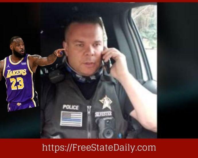 Cop Suspended For Mocking LeBron James
