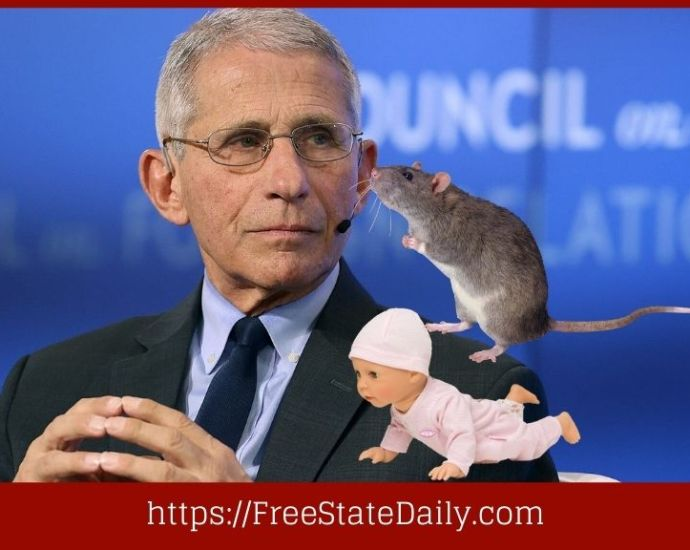 Fauci Caught Funding Grotesque Experiments