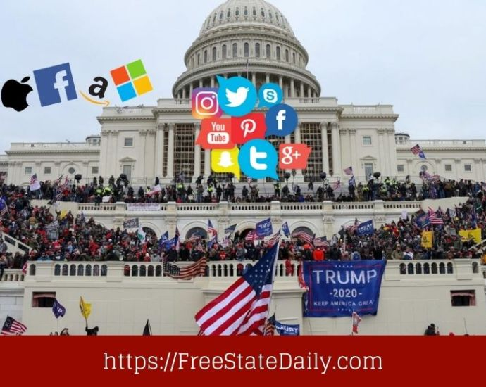 January 6th House Committee Asks Tech Giants For Data