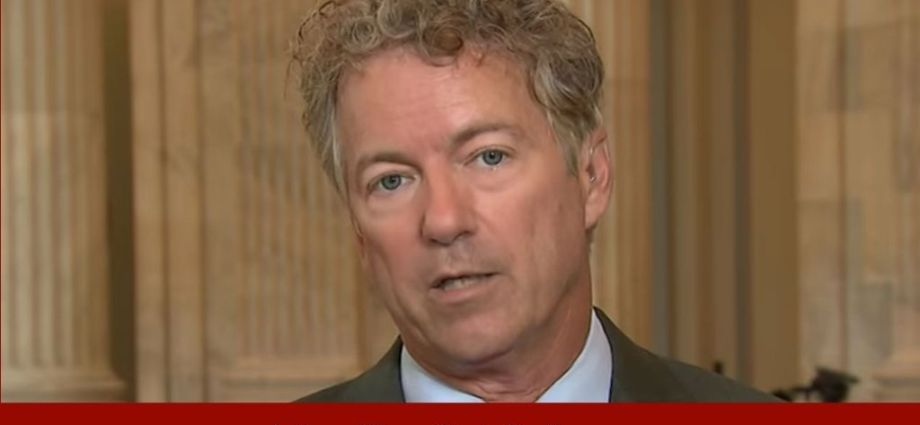 Rand Paul Gives Reason For Lack Of COVID Cures Being Studied