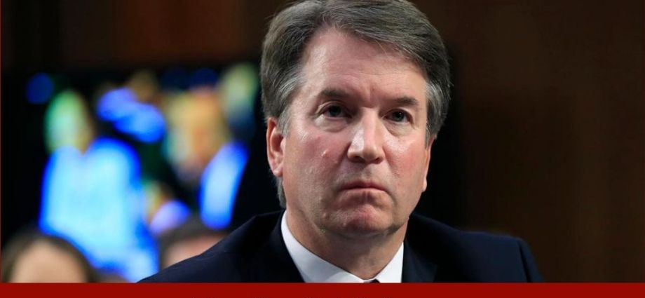 Protesters Target Justice Kavanaugh Over Texas Abortion Ban