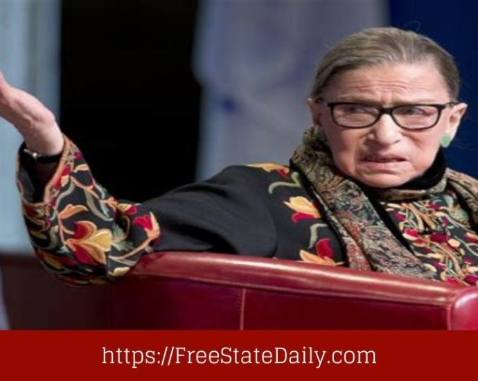 ACLU Changes RBG Quote And Gets Slammed