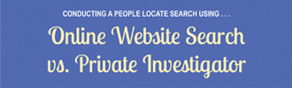 Online Search vs. Hiring A Private Investigator
