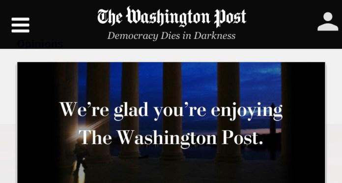 Washington Post Propaganda