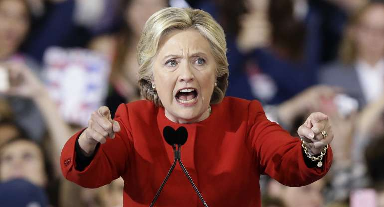 Hillary Clinton Claims Election was Stolen from Her