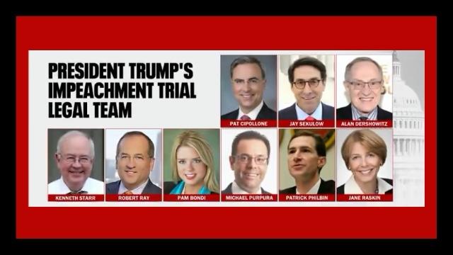 White House Counsel: Trump Defense Team