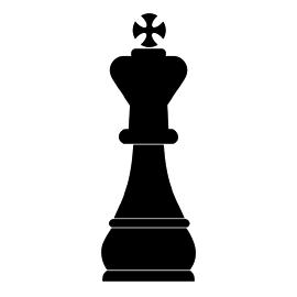 Chess Piece  King Stencil  Free Stencil Gallery