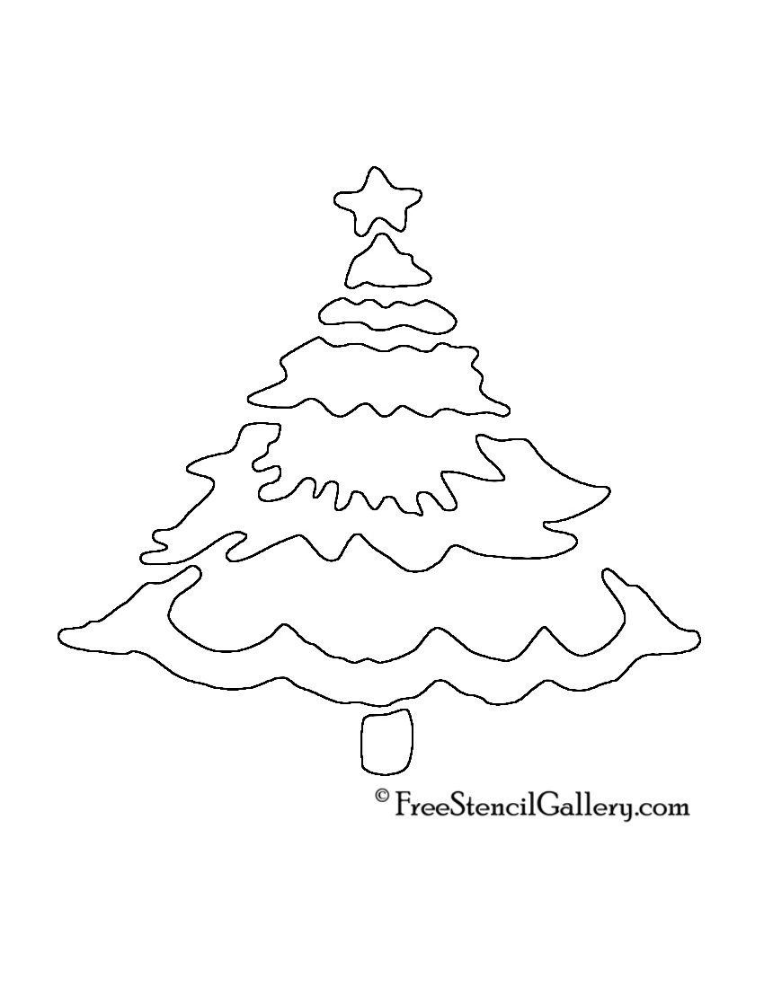 """Search Results for """"Christmas Tree Stencil Template"""