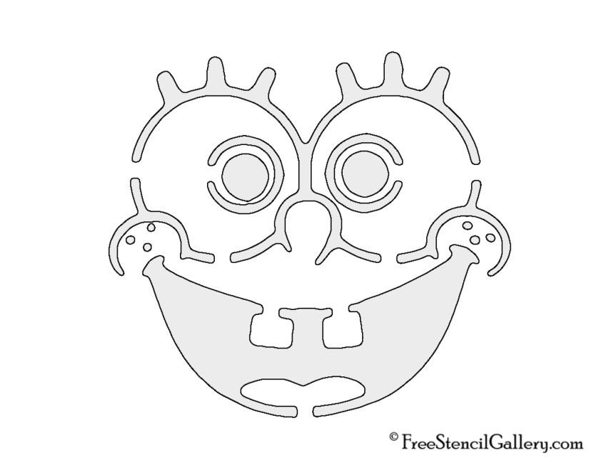 Sponge Bob Carving pattern