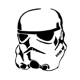 Stormtrooper Helmet Stencil Free Stencil Gallery