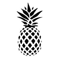 Pineapple Stencil Free Stencil Gallery