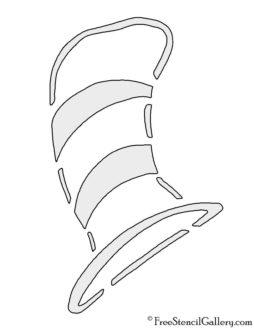 Dr Seuss Hat Silhouette : seuss, silhouette, Seuss, Stencil, Gallery