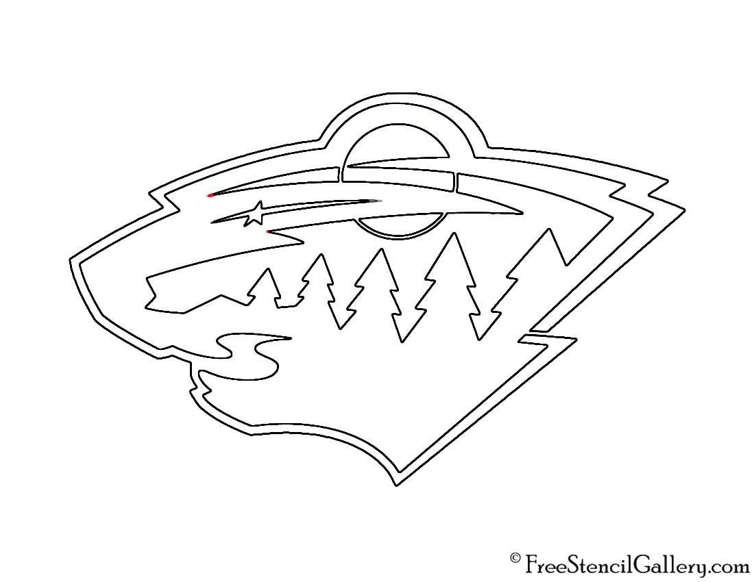 Montreal Canadiens Pumpkin Carving Stencil