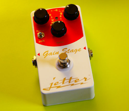Jetter Gain Stage Red