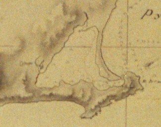 1817 Russian Chart of Bodega Harbor