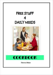 free stuff cookbook ebook cover
