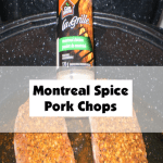 Montreal Spice Pork Chops