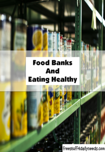 food banks and eating healthy