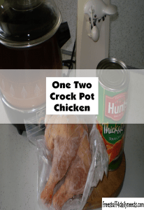 One Two Crock Pot Chicken