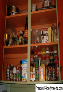 spice cupboard finished